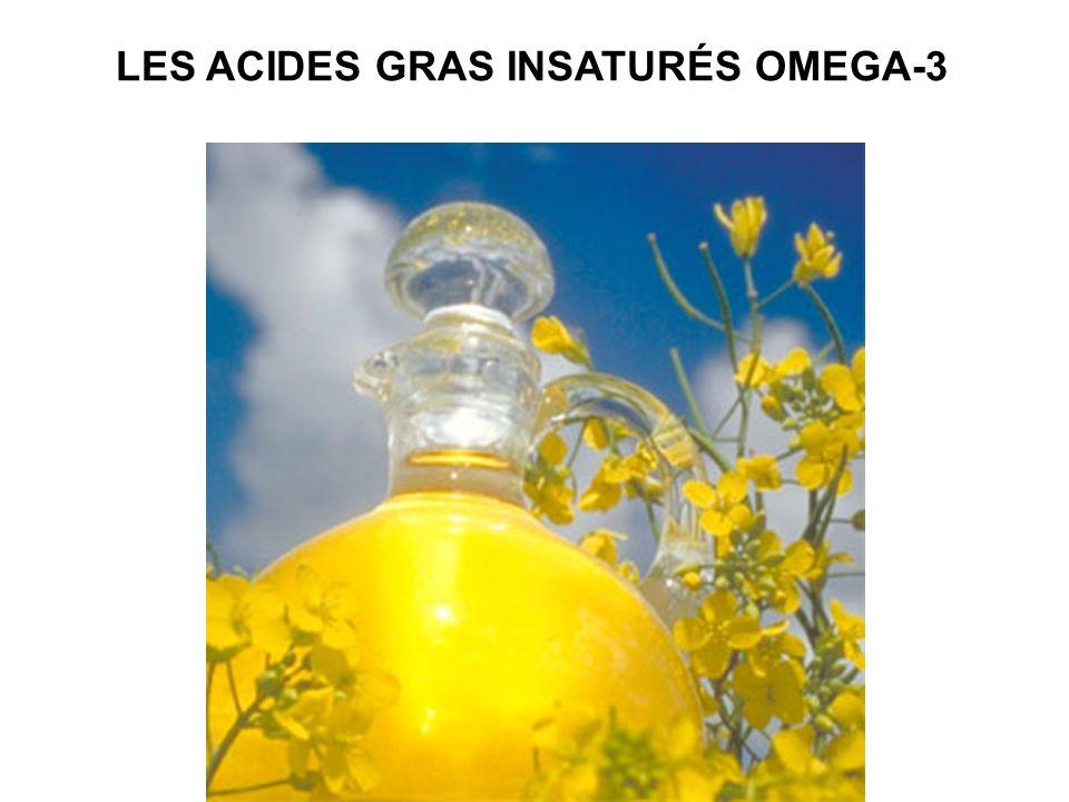 LES ACIDES GRAS INSATURÉS OMEGA-3