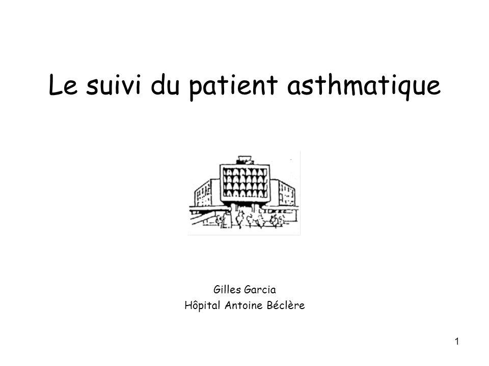 Le suivi du patient asthmatique