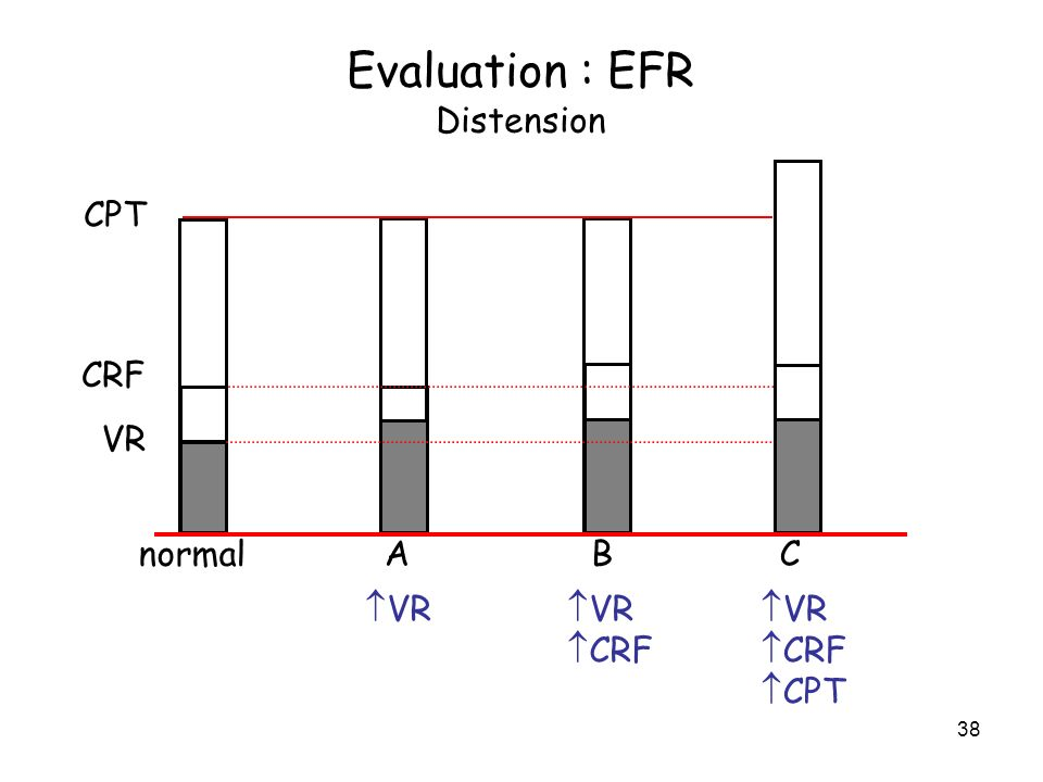 Evaluation : EFR Distension