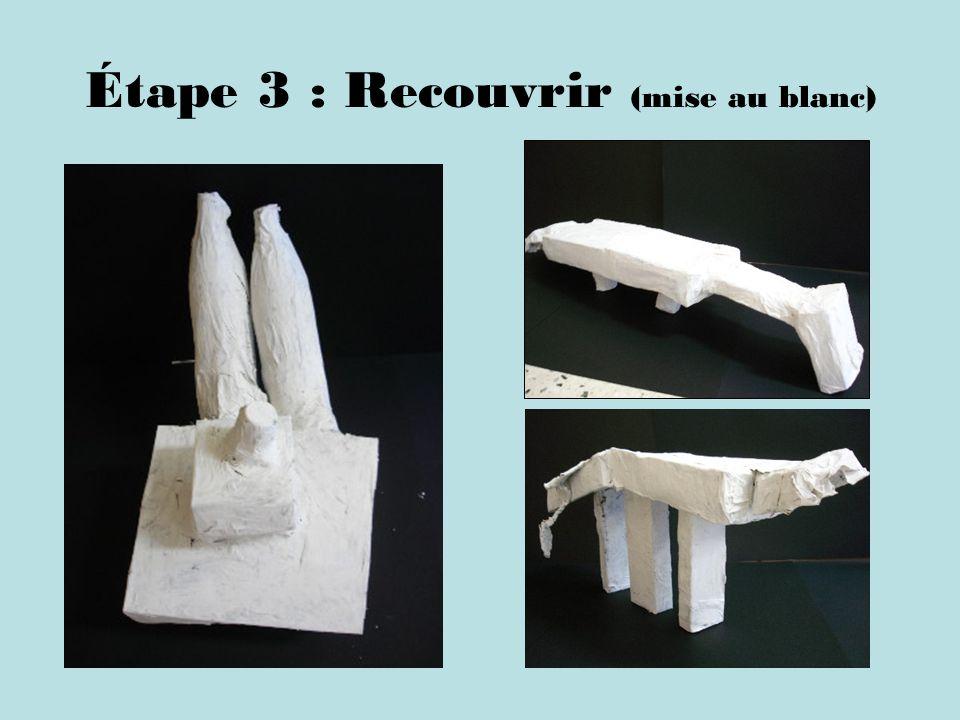 Étape 3 : Recouvrir (mise au blanc)