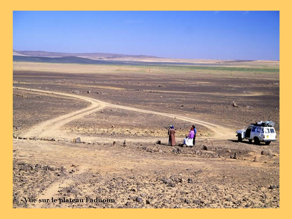 Vue sur le plateau Fadnoun