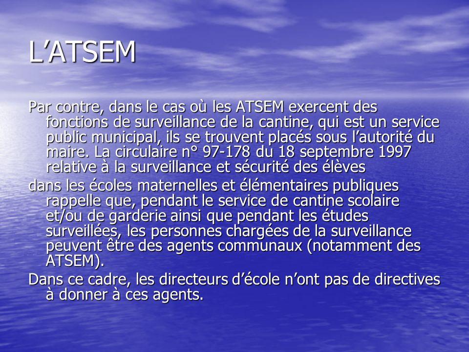L'ATSEM
