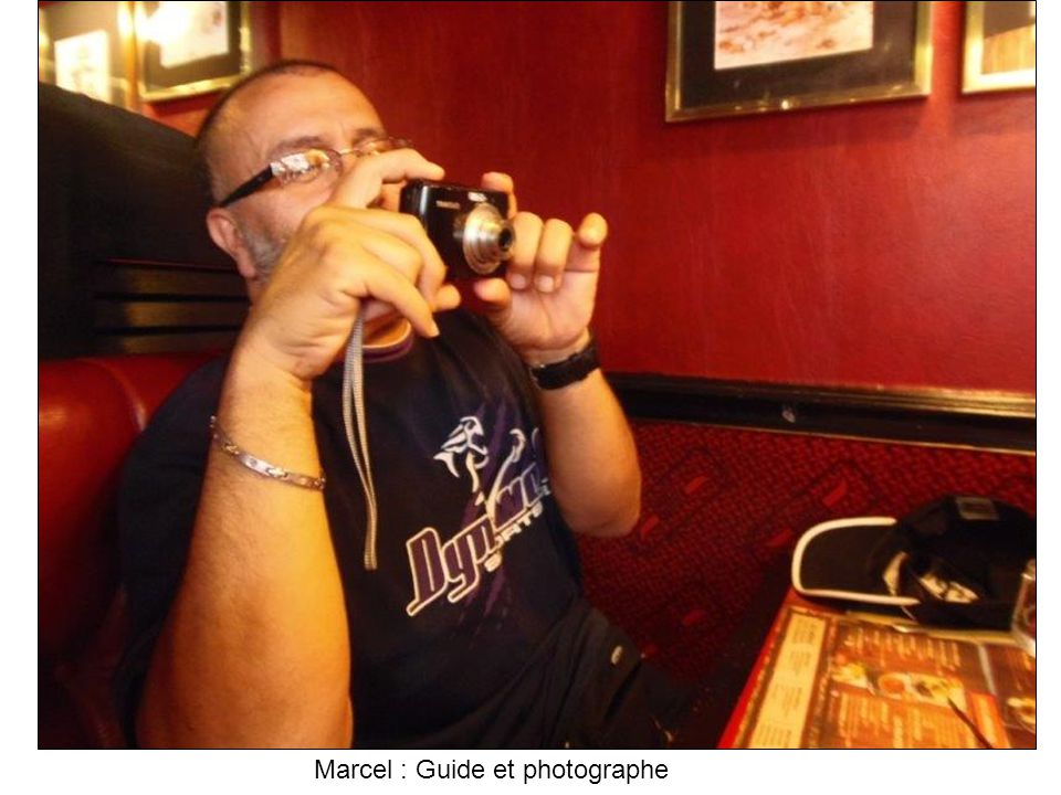Marcel : Guide et photographe