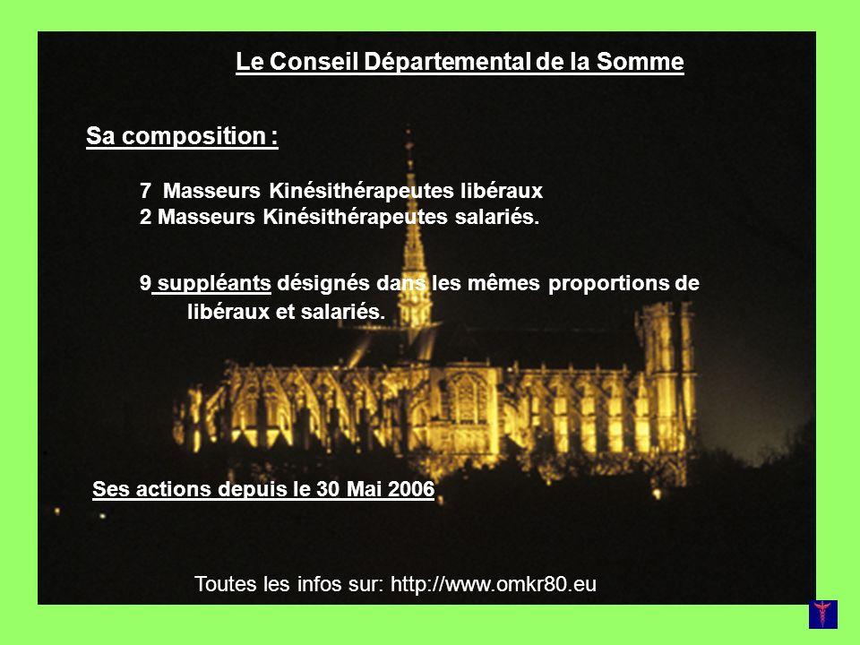 Le Conseil Départemental de la Somme