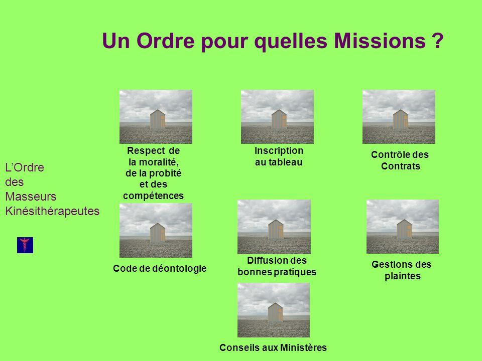 Un Ordre pour quelles Missions
