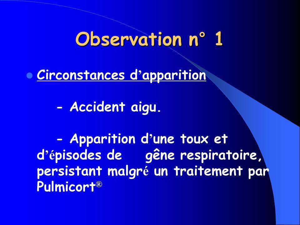 Observation n° 1