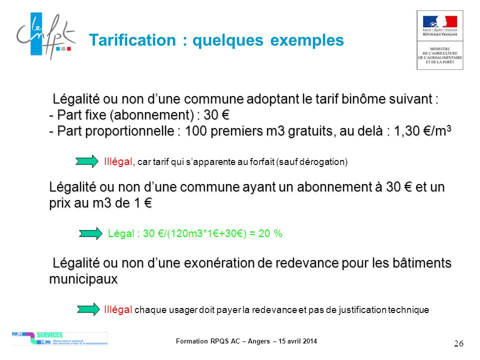 Formation RPQS AC – Angers – 15 avril 2014