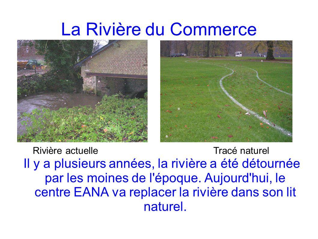 La Rivière du Commerce Rivière actuelle. Tracé naturel.