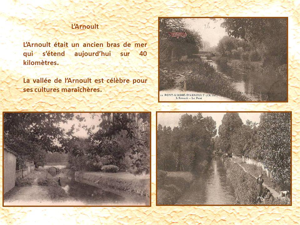 L'Arnoult L'Arnoult était un ancien bras de mer qui s'étend aujourd'hui sur 40 kilomètres.