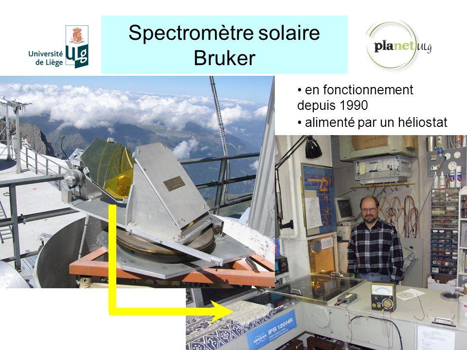 Spectromètre solaire Bruker