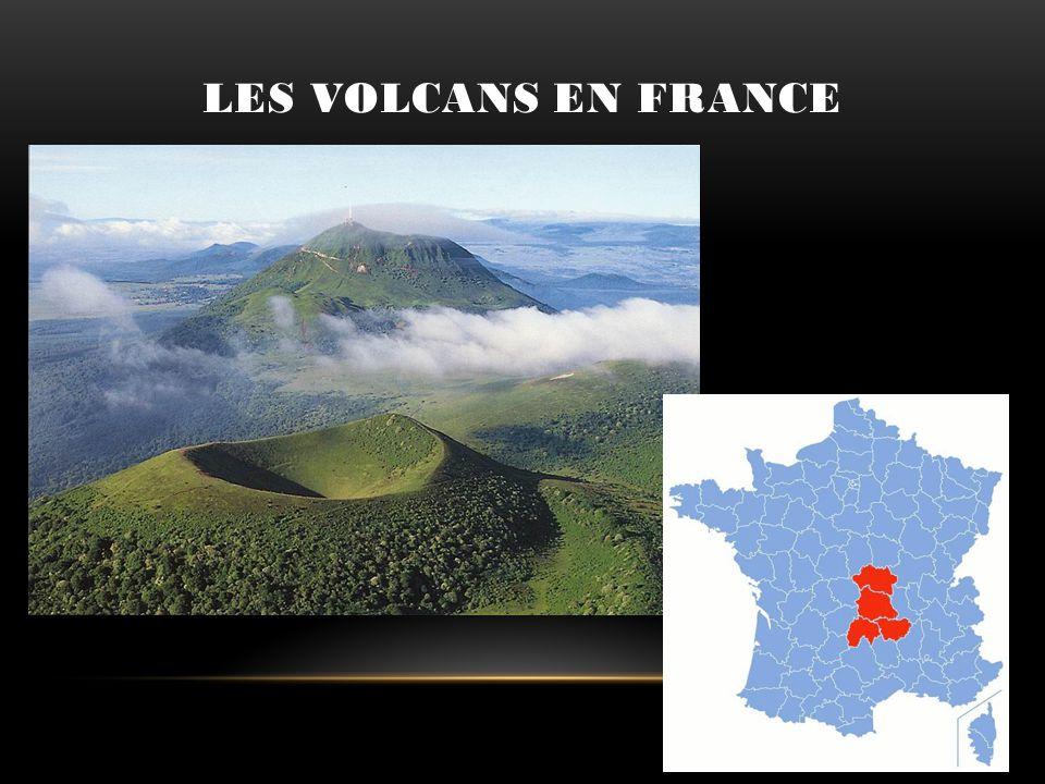 Les volcans en France En France