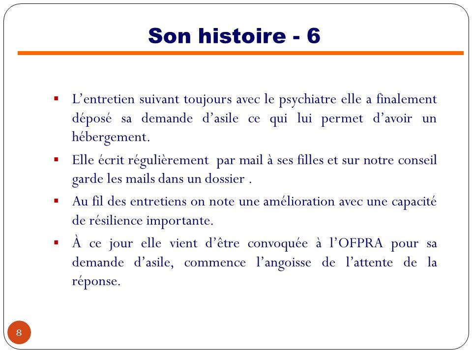 Son histoire - 6