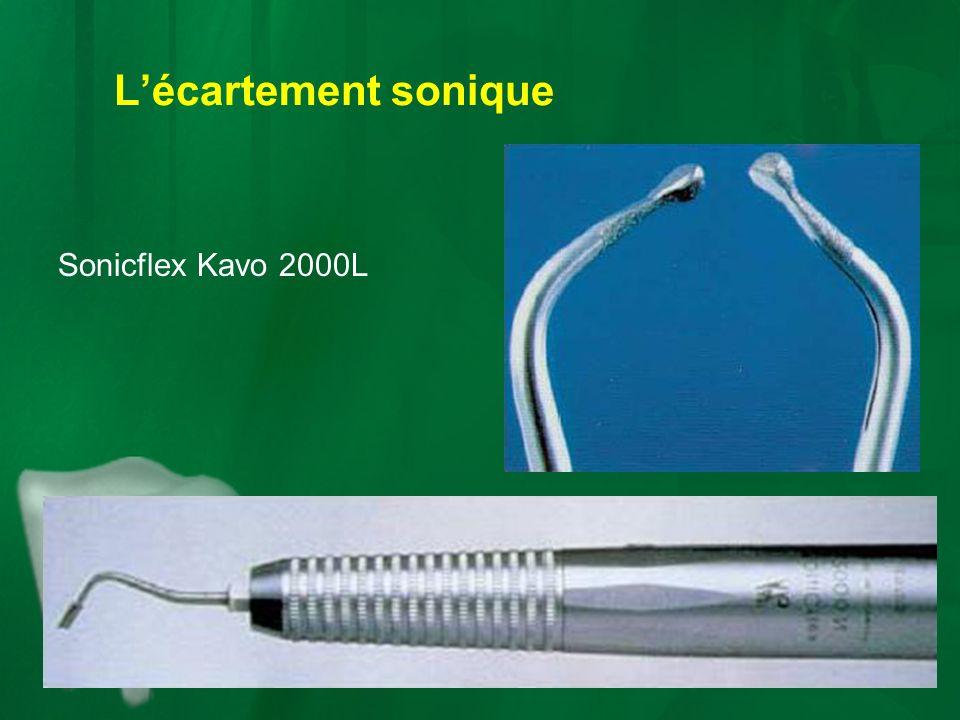 L'écartement sonique Sonicflex Kavo 2000L