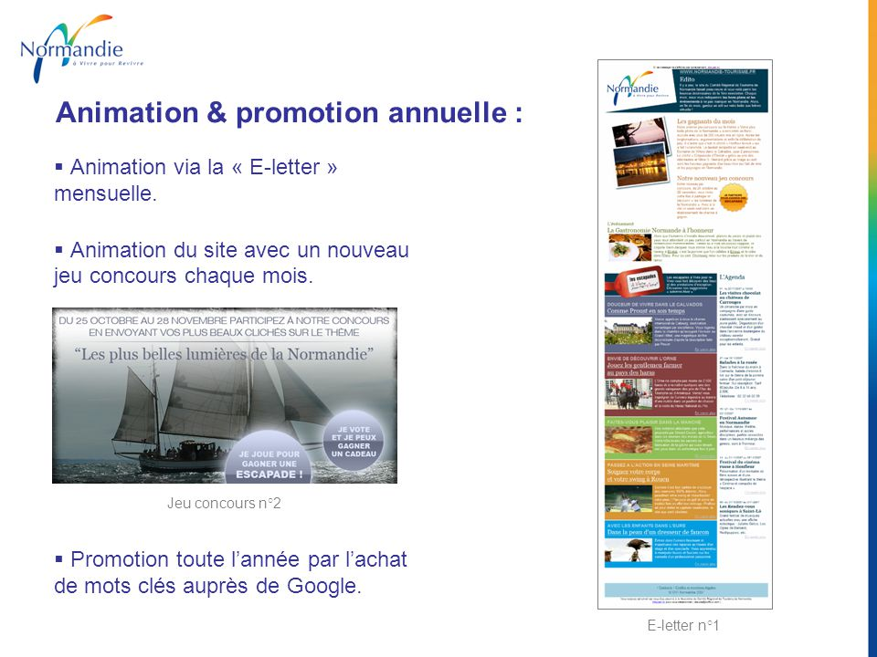 Animation & promotion annuelle :