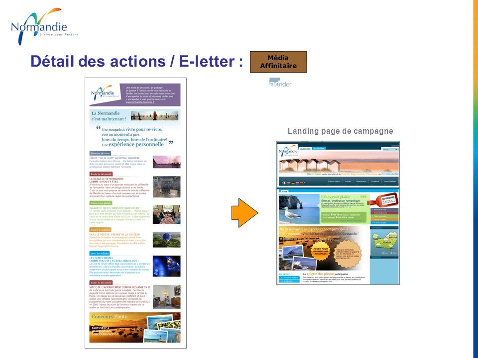 Landing page de campagne