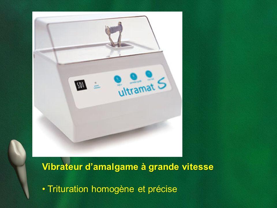 Vibrateur d'amalgame à grande vitesse • Trituration homogène et précise