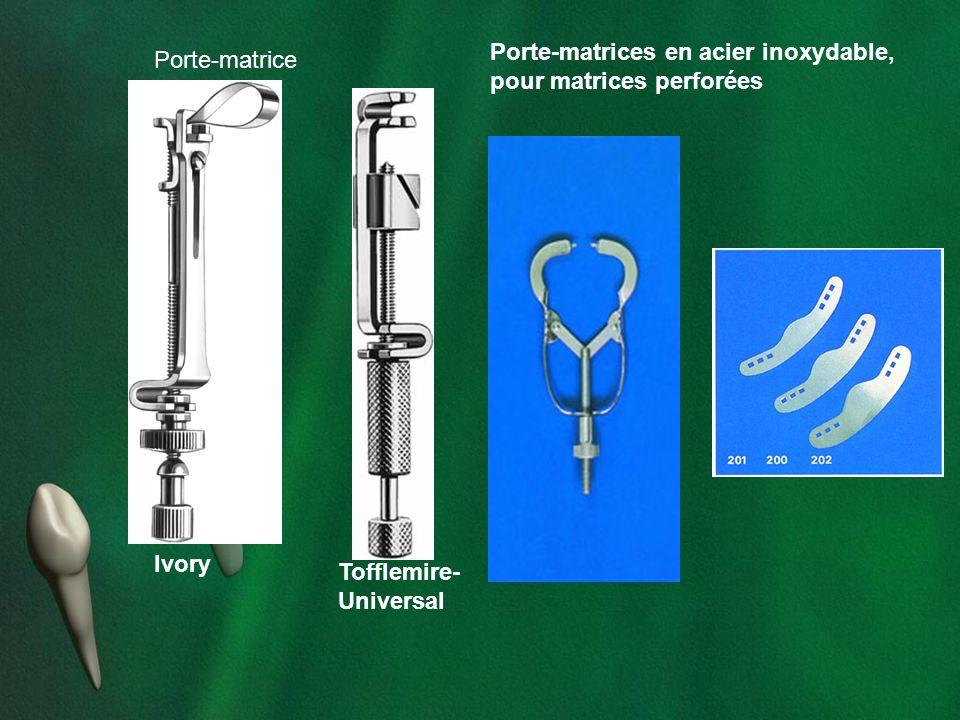 Ivory Tofflemire-Universal. Porte-matrice.