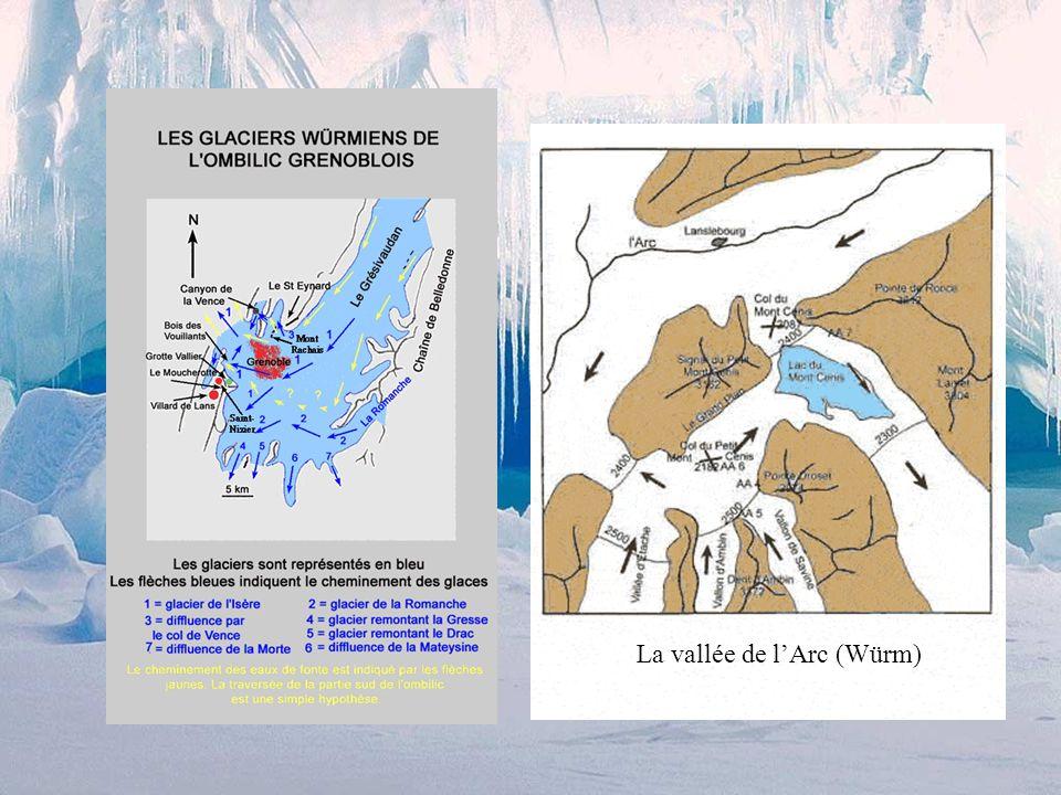 La vallée de l'Arc (Würm)