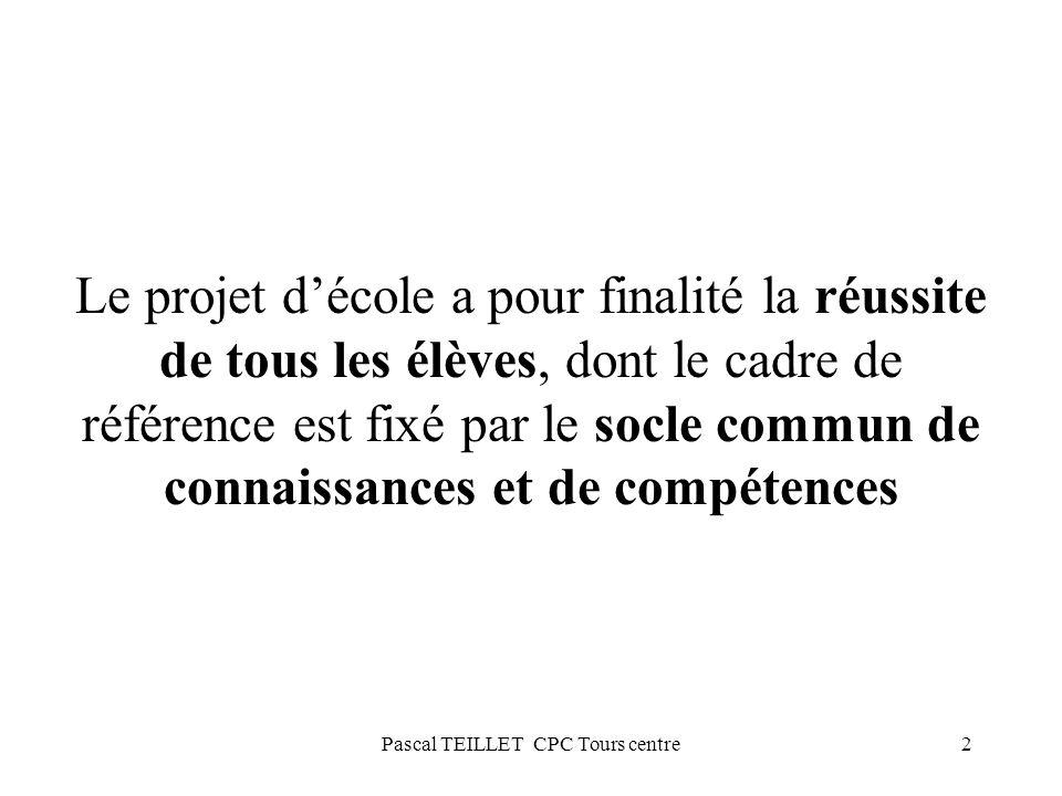 Pascal TEILLET CPC Tours centre