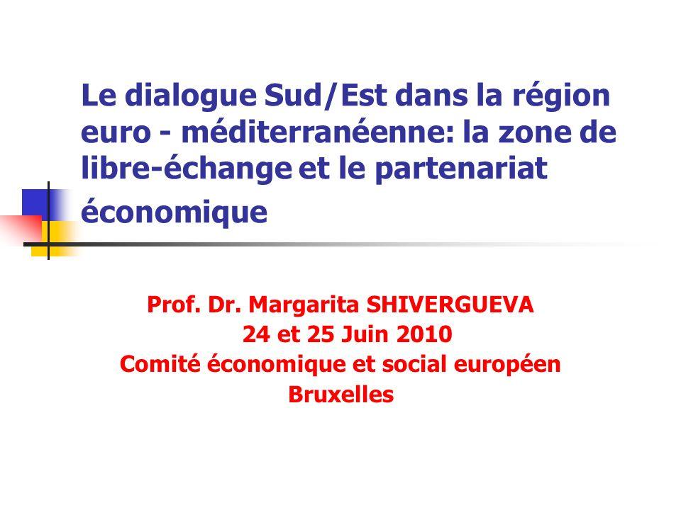 Prof. Dr. Margarita SHIVERGUEVA Comité économique et social européen