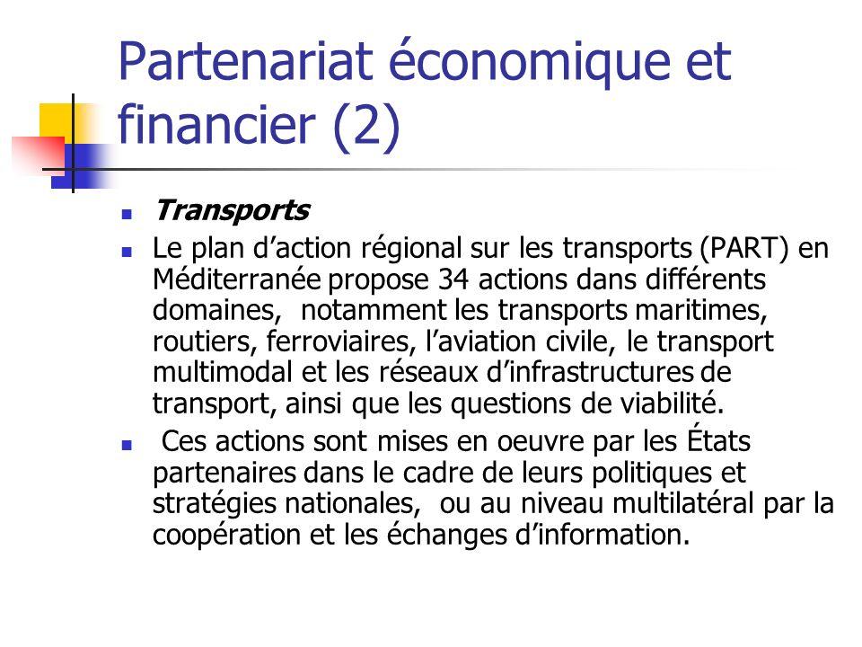 Partenariat économique et financier (2)