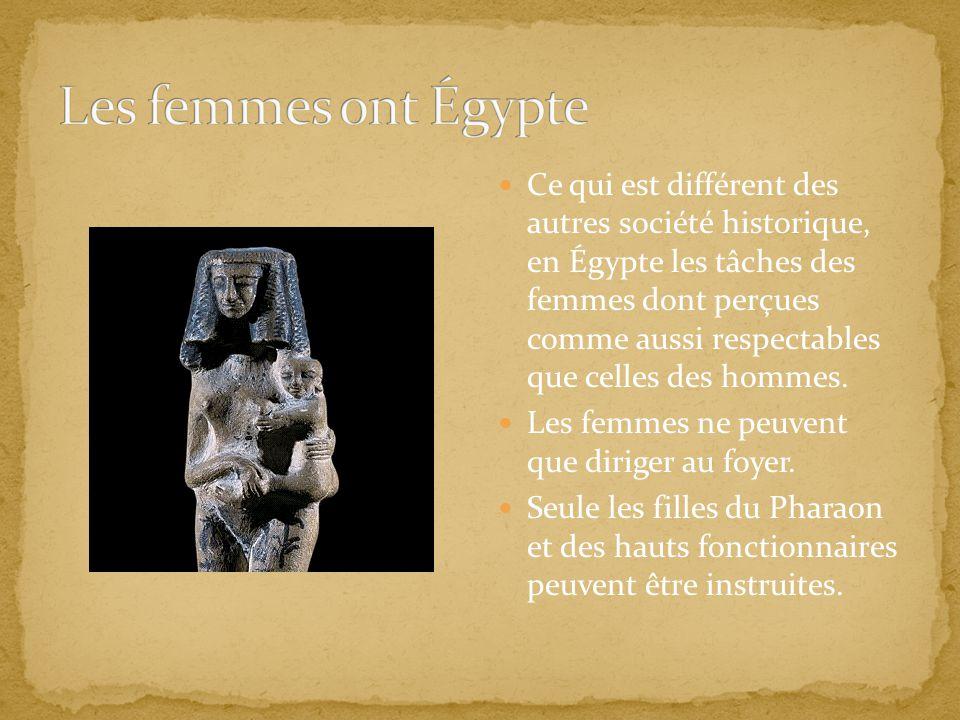 Les femmes ont Égypte