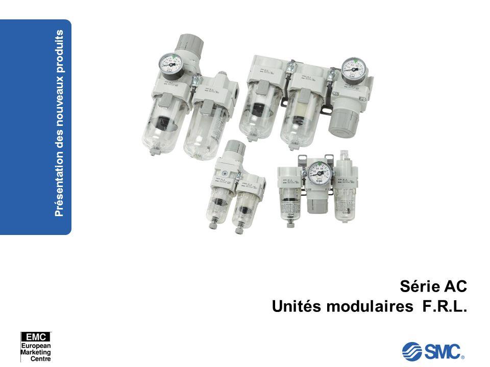 Série AC Unités modulaires F.R.L.