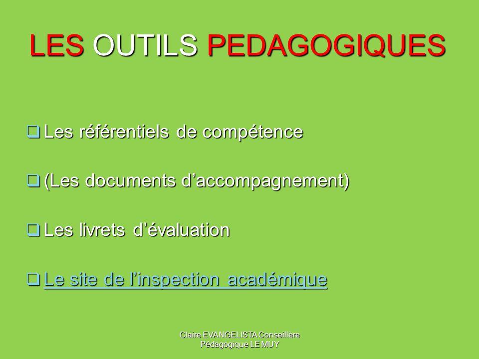 LES OUTILS PEDAGOGIQUES