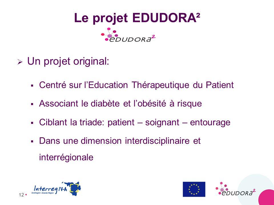 Le projet EDUDORA² Un projet original:
