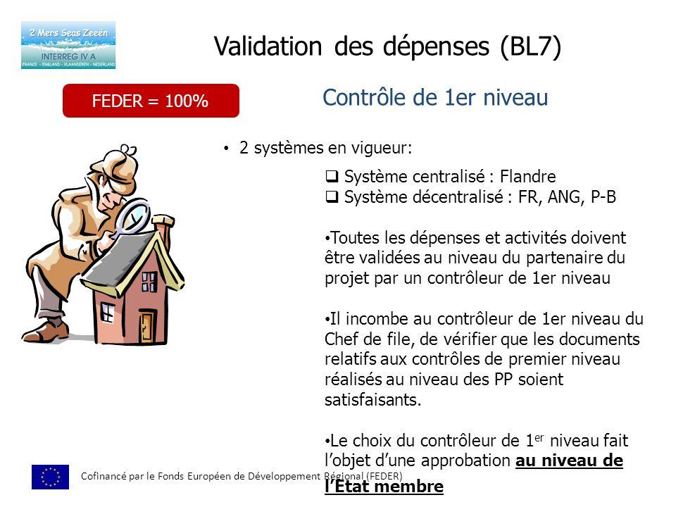 Validation des dépenses (BL7)