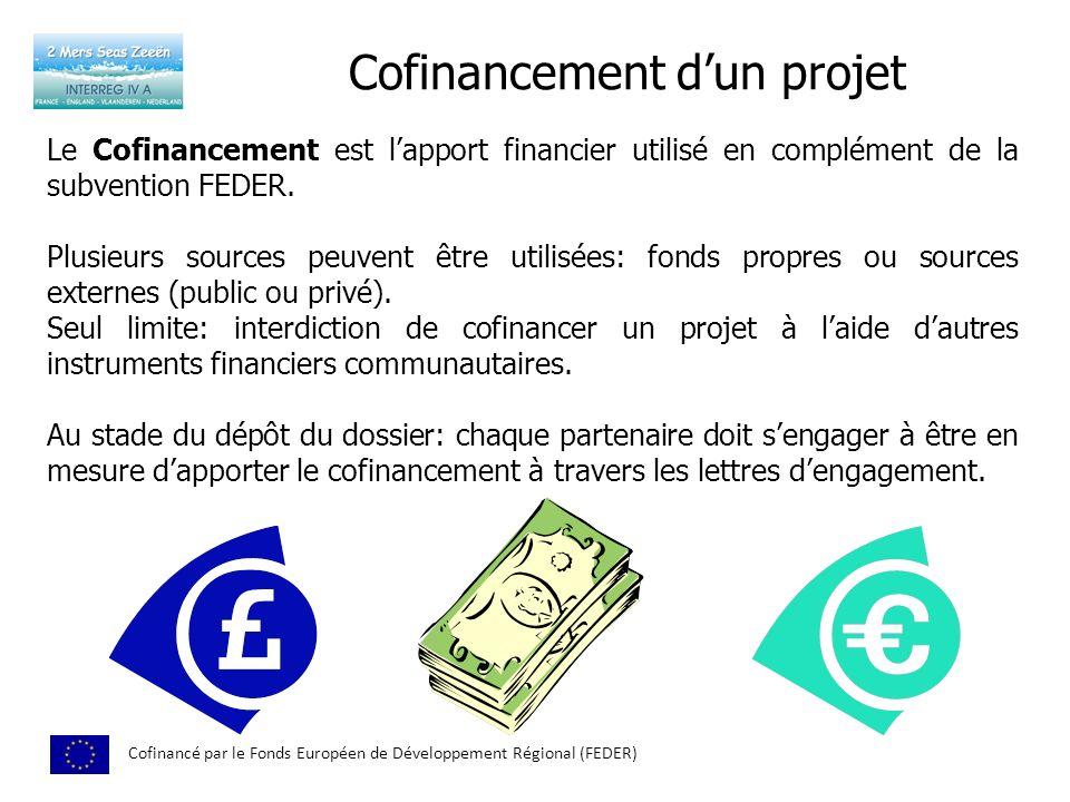 Cofinancement d'un projet
