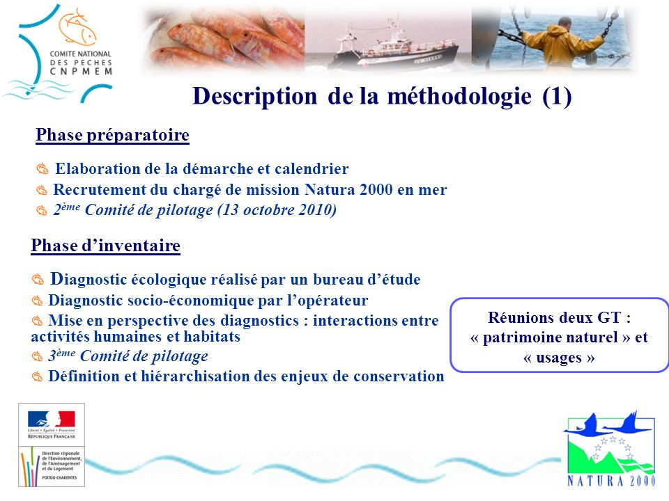 Description de la méthodologie (1)