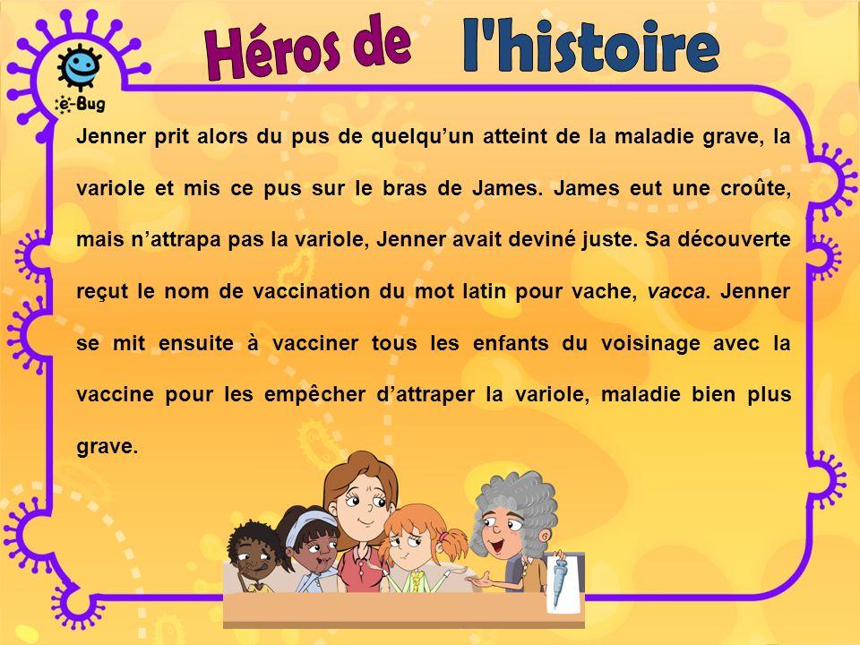 Héros de l histoire.