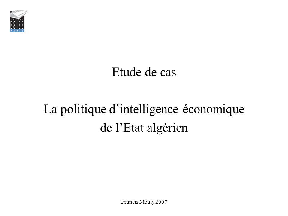 La politique d'intelligence économique