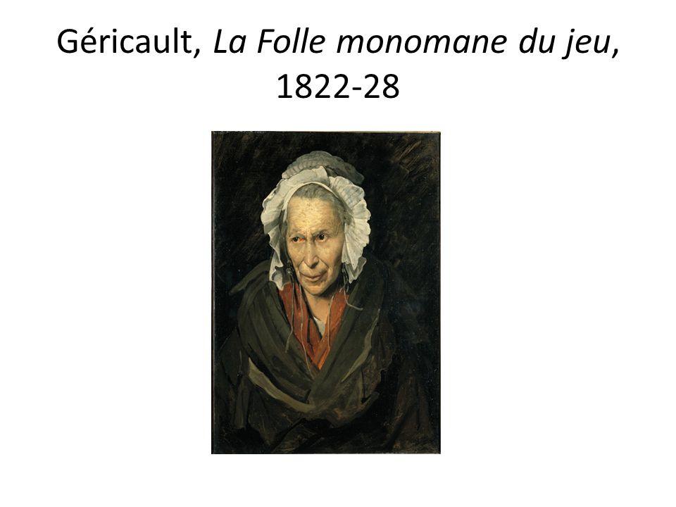 Géricault, La Folle monomane du jeu, 1822-28