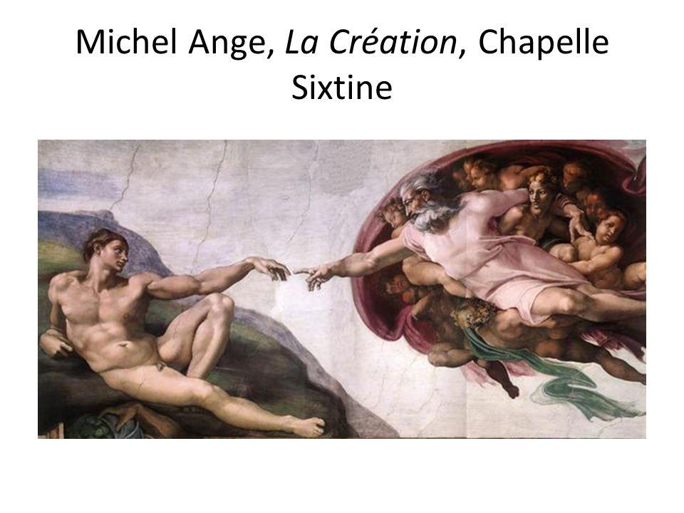 Michel Ange, La Création, Chapelle Sixtine