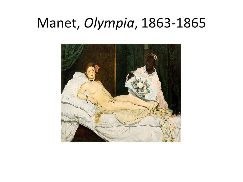 Manet, Olympia, 1863-1865