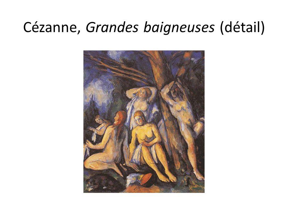 Cézanne, Grandes baigneuses (détail)