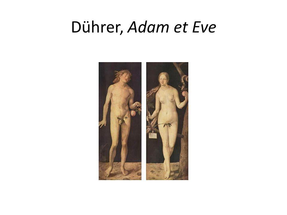 Dührer, Adam et Eve