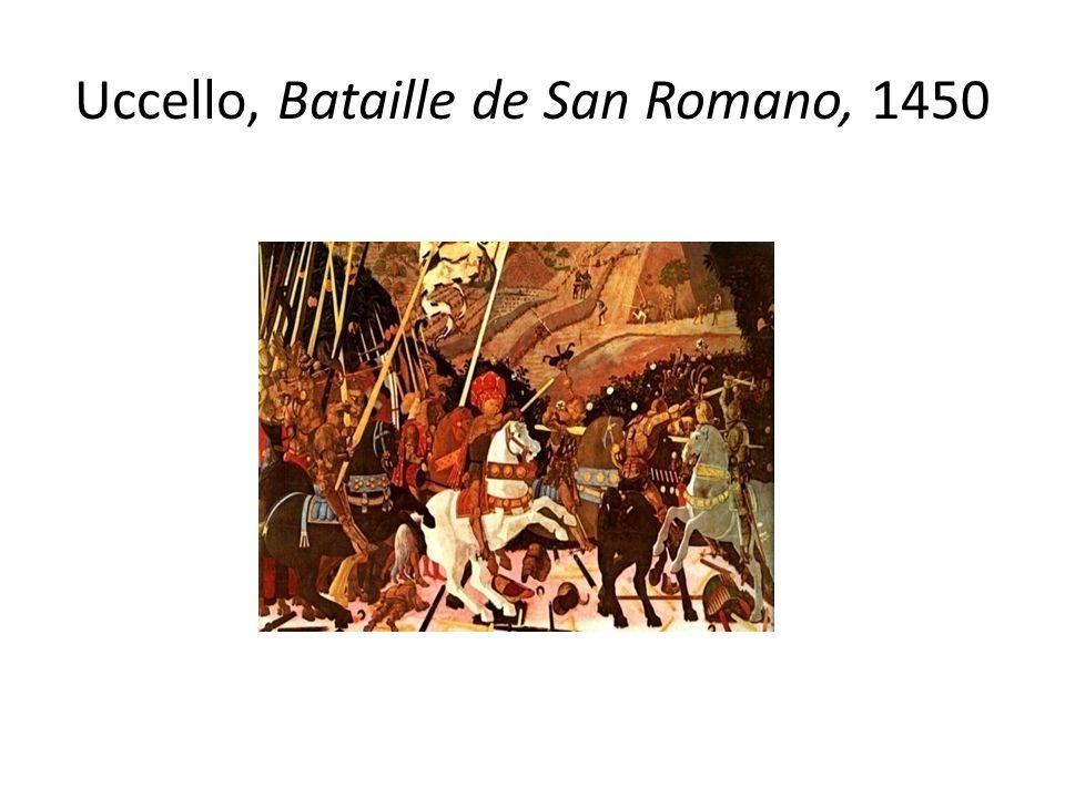 Uccello, Bataille de San Romano, 1450