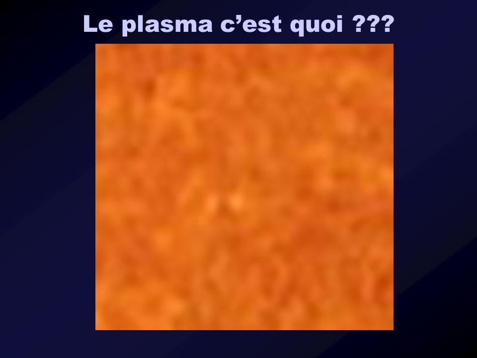 Le plasma c'est quoi