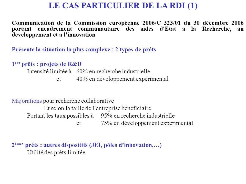 LE CAS PARTICULIER DE LA RDI (1)