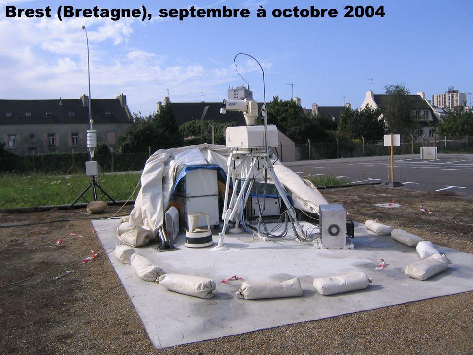 Brest (Bretagne), septembre à octobre 2004