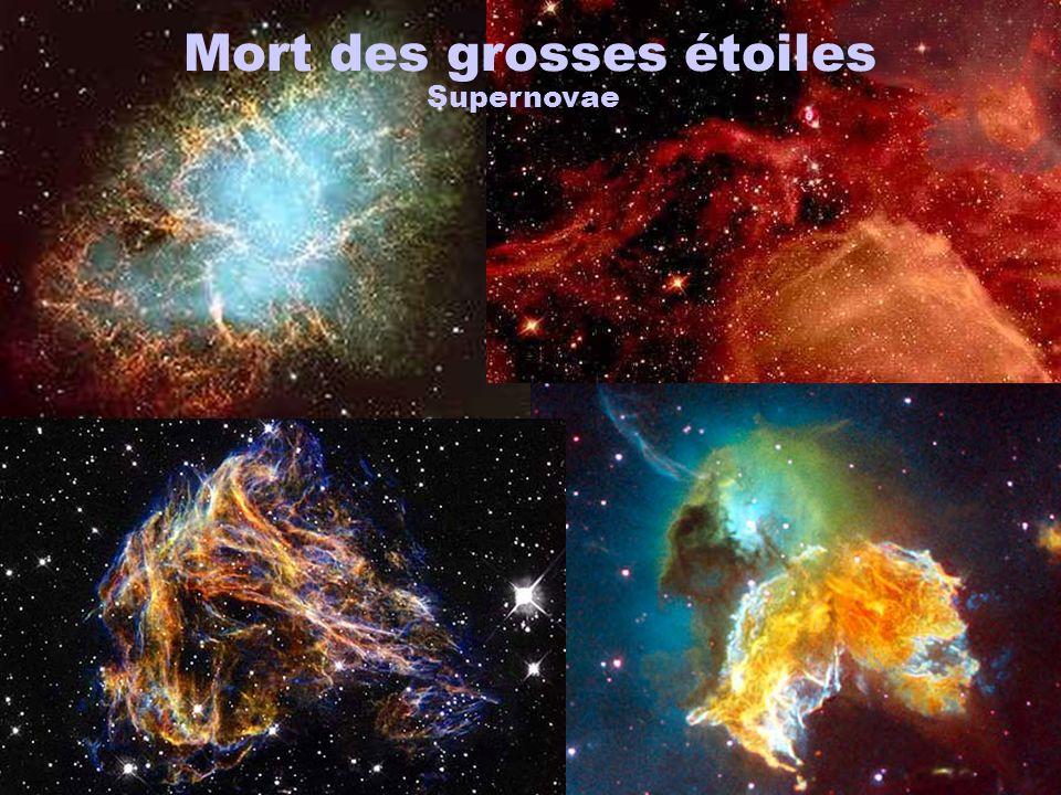Mort des grosses étoiles