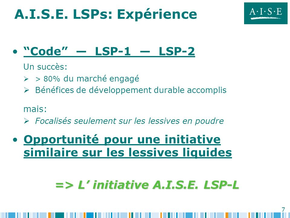 => L' initiative A.I.S.E. LSP-L