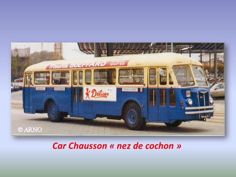 Car Chausson « nez de cochon »
