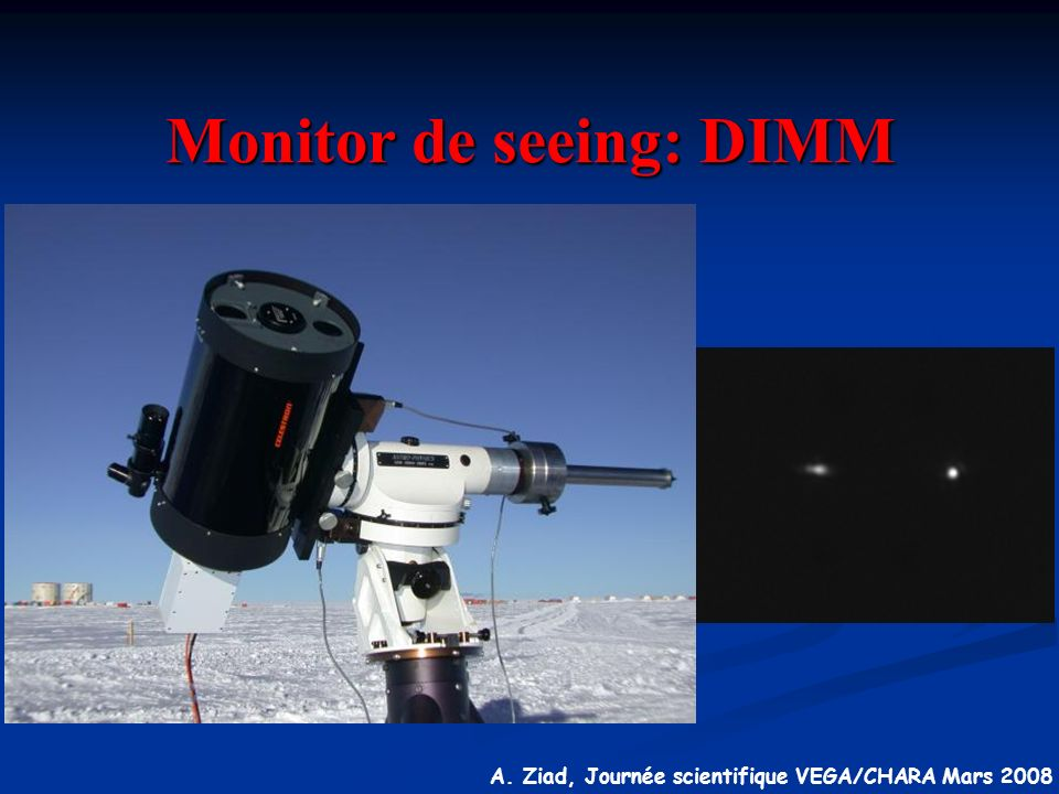 Monitor de seeing: DIMM