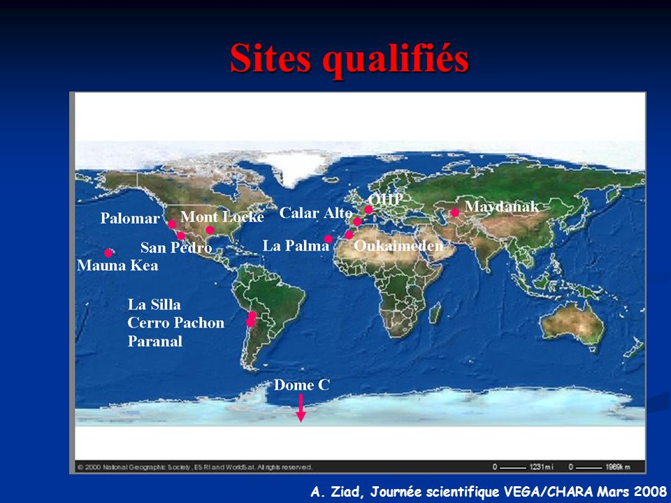 Sites qualifiés