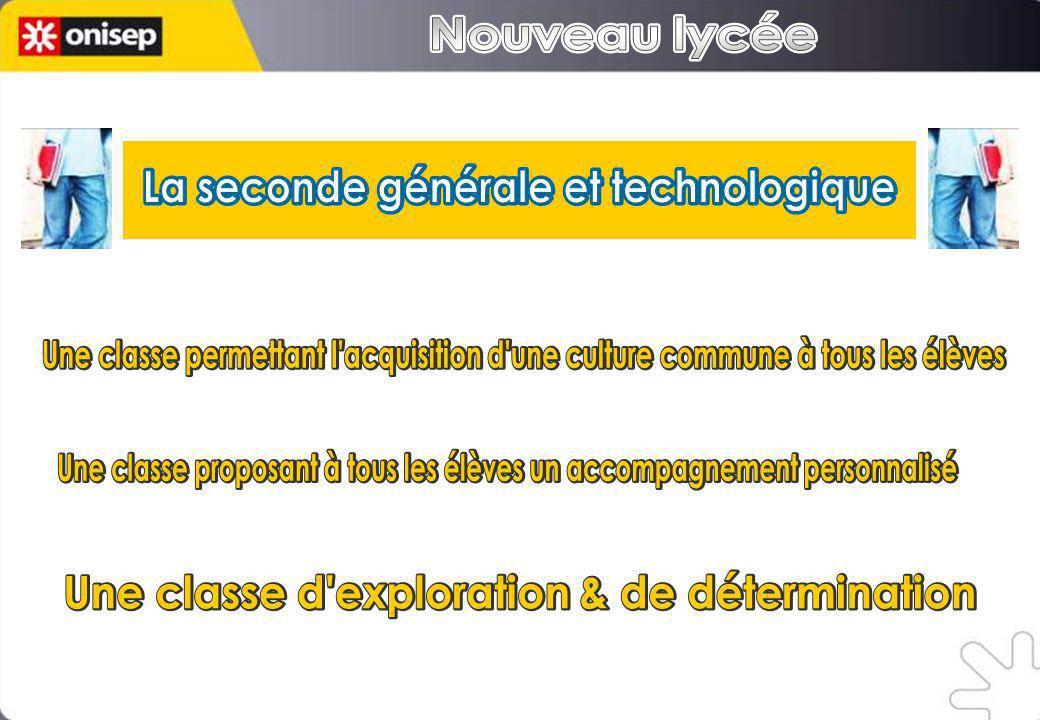 La seconde générale et technologique