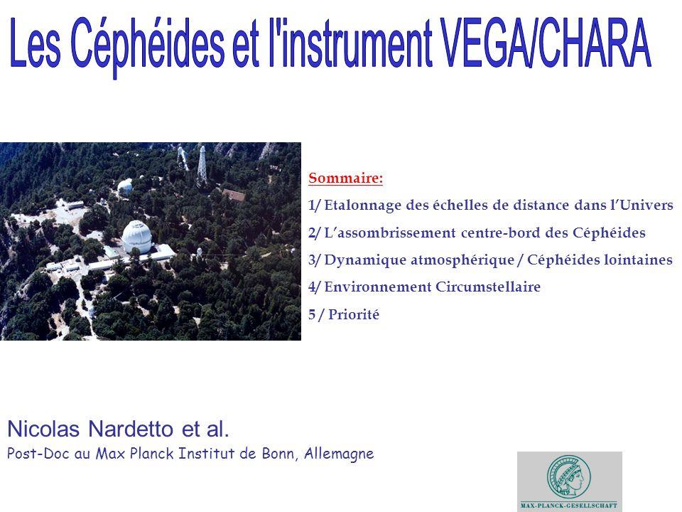 Les Céphéides et l instrument VEGA/CHARA